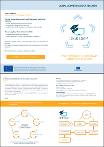Leaflet in English for print